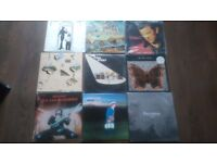 Vinyl record colection,all listed beatles,doors,the verve,pink floyd ect