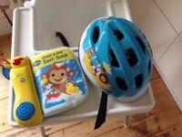 Small kids bike helmet