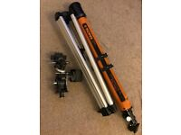 Konus 70x900mm Refractor Telescope +Motorised equatorial mount +Tripod +Parts