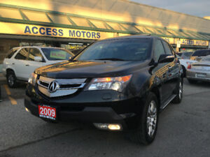 2009 Acura MDX Tech Pkg,NAVI,CAMERA,7 PASS 09 CLEAN CARPROOF