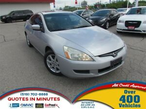 2003 Honda Accord EX | V6 | LEATHER | SUNROOF | COUPE