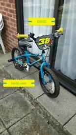 """Apollo Ace 38 child's 16"""" wheel bike"""