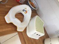 Potty training stool and seat
