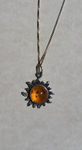 Ladies Silver Jewelry (925 Silver, Amber, Vintage)