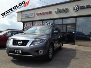 2015 Nissan Pathfinder SL**LEATHER**7 PASS