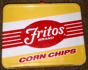 Highly collectable 1975 Frito Lays tin lunchbox