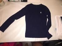 Ralph Lauren sport navy sweatshirt