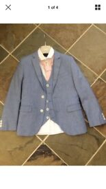 Boys chambray next 5 piece suit - age 11