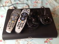 Sky + HD box with magic eye and spare controller