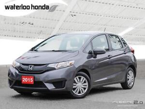 2015 Honda Fit LX Sold Pending Customer Pick Up...One Owner....