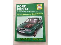 Ford Fiesta (1995 - 2002) Haynes Manual
