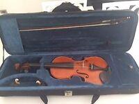 3/4 Gliga Gama 1-piece back violin outfit