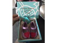 Vivienne Westwood Melisa jelly shoes size 4