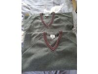 Saintfield High School jumpers size 34