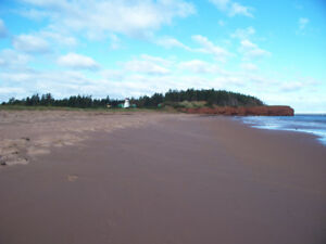 3 ACRES CLEARED with 270-DEGREE OCEAN WATERVIEWS in Malpeque