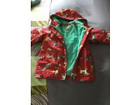 Girls joules jacket in very good condition aged 4. Colour pink. Fleeced inside.