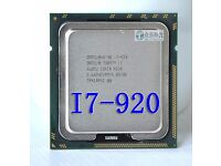 Intel i7 920 2.66ghz quad core cpu.