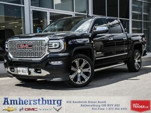 "2016 GMC Sierra Denali - 22"" WHEELS, LEATHER, NAVIGATION!"