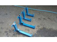 Heavy Duty Industrial wall racking steel bar tube racks