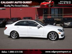 2013 Mercedes-Benz C-Class 350 4MATIC AMG PKG/NAVI/B.CAM/LEATHER