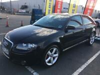 Audi A3 sports 1.9 TDI 3 door hatchback (2007) 1 year MOT