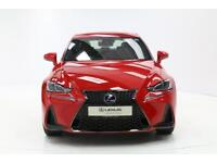 Lexus IS 300H F SPORT (red) 2017-02-14