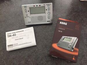 KORG Combo Tuner and Metronome