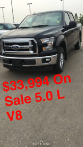 2017 Ford F-150 SuperCrew 5.0L AD SPECIAL $ 33,994 4X4
