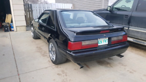 91 Ford Mustang 5.0, 5 speed