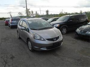 """2010 Honda Fit """"LX""""-ONLY 111,888 KM-NEW TIRES-RUSTPROOFED-RARE!"""