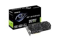 GEFORCE GTX 970 G1GAMING GRAPHICS CARD FOR SALE