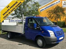 2013/ 13 Ford Transit 2.2TDCi 125ps 350EF Dropside&Tail Lift DRW