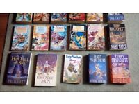 23 Terry Pratchett books for sale, £2.50 each or £50 the lot.