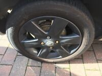 Nissan micra k12 alloys and tyres