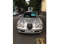 2002 (02) Jaguar S Type 2.5 V6 Petrol Automatic