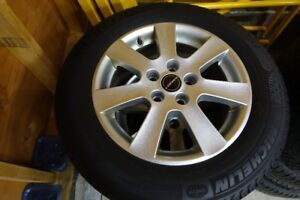 Snow tires - VW - Michelin X-Ice / Borbet Alloy Rims
