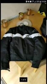 Women's alpinestars textile motorcycle jacket