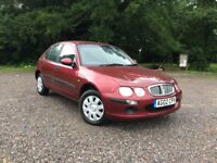 Rover 25 1.4 16v iL 5dr 2002 - Mot Till End Of Oct 2017 - 3 Owners From New