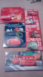 Brand new, still in packaging Lightning McQueen / Cars art