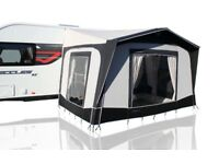 Caravan Bradcot Porch Awning Aspire Midi 2015 Easy Alloy Charcoal