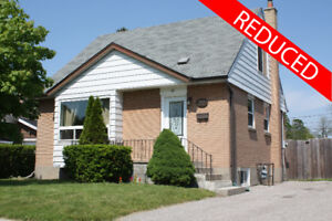 REDUCED: Detached House for Sale in South Ajax!
