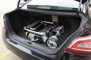 Portable Electric Wheelchair –Fits in Trunk -Perfect for Travel!