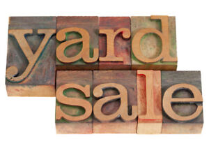 Two Family Yard Sale/Colby Village Sat. July 22nd