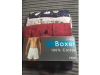 Brand New Next Mens 3 pack of boxers