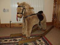 Beautiful Rocking Horse 45cm seat height 2yrs + 'Twiggy'