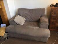 Armchair w/ Washable Cushion Covers