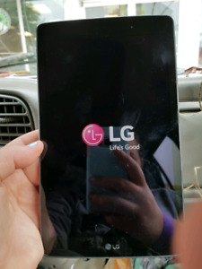 Lg G-PAD updated (cracked screen.) NEED