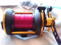 penn 525 mag 2 multiplier reel
