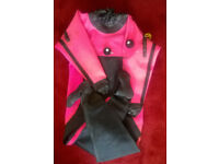 Diving Dry Suit (RoHo) with Valves