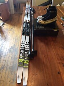 Ensemble ski de fond femme